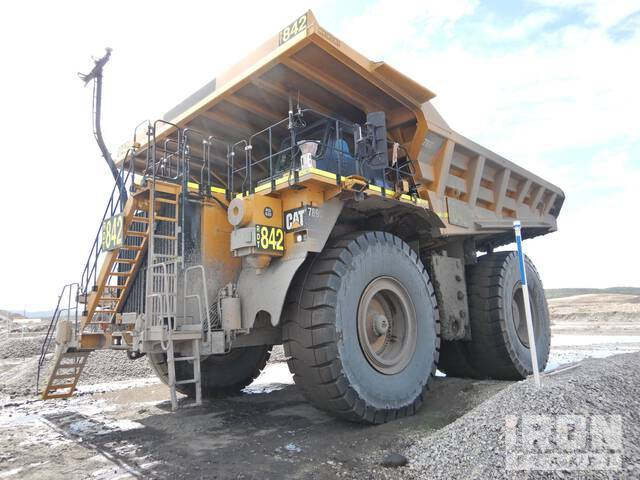2018 Cat 789D Off-Road End Dump Truck, Rock Truck