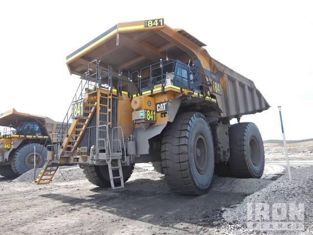 2018 Cat 789DXQ Off-Road End Dump Truck, Rock Truck