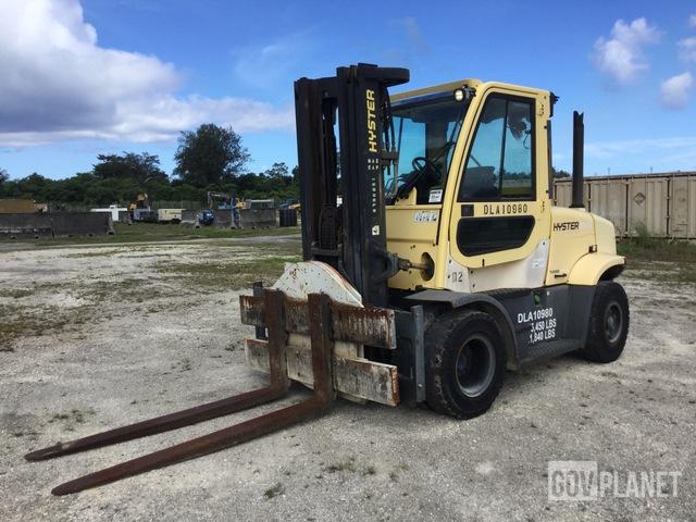 Hyster H155FT Pneumatic Tire Forklift, Forklift
