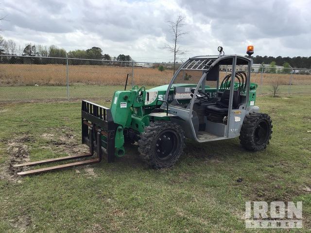2014 Genie GTH-5519 4x4x4 5500 lb Telehandler, Telescopic Forklift