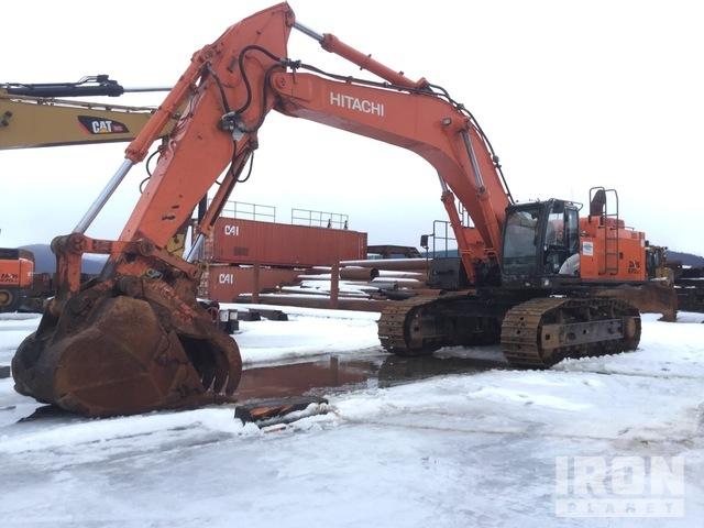 2015 Hitachi Zaxis 670LC-5B Track Excavator, Hydraulic Excavator