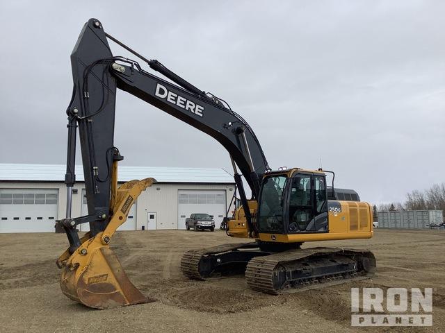 2018 John Deere 250G LC Track Excavator, Hydraulic Excavator