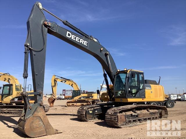 John Deere 290G LC Track Excavator, Hydraulic Excavator