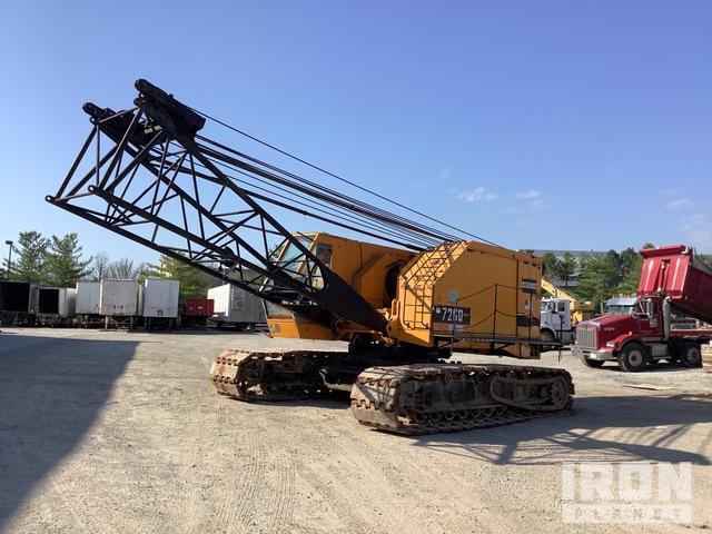 1981 (unverified) American 7260 100 ton Lattice-Boom Crawler Crane, Crawler Crane
