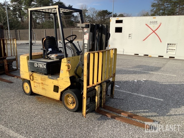 Hyster S40XL-MIL Cushion Tire Forklift, Forklift