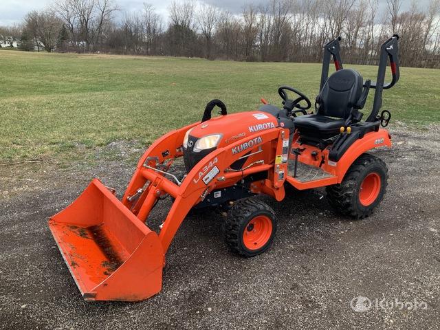 2018 Kubota BX2680 4WD Utility Tractor, Utility Tractor