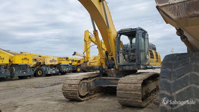 2016 (unverified) Kobelco SK500 Track Excavator, Hydraulic Excavator