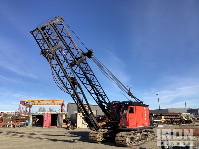Link-Belt LS108 45 ton Lattice-Boom Crawler Crane, Crawler Crane