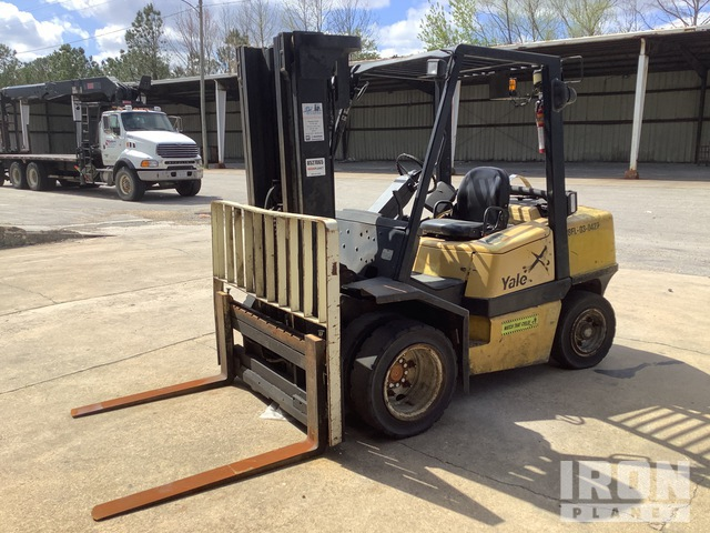 2003 Yale GLP080LJNGBE089 Pneumatic Tire Forklift, Parts/Stationary Construction-Other