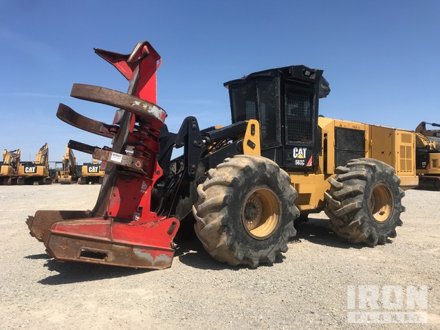 2016 Cat 563C Wheel Feller Buncher, Feller Buncher
