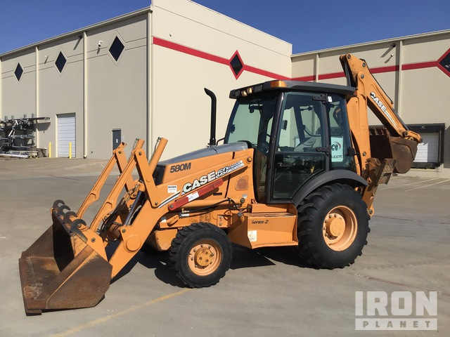 2007 (unverified) Case 580M Series II 4x4 Backhoe Loader, Loader Backhoe