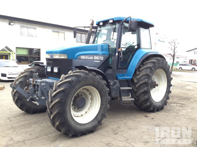 New Holland 8670 4WD Tractor, MFWD Tractor