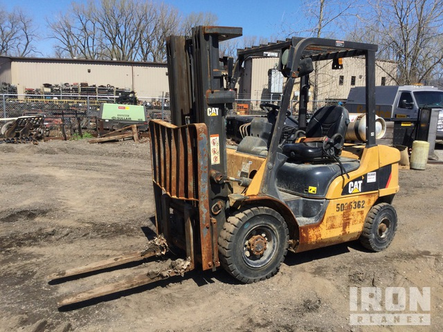 2015 Cat 2P5000 Pneumatic Tire Forklift, Forklift