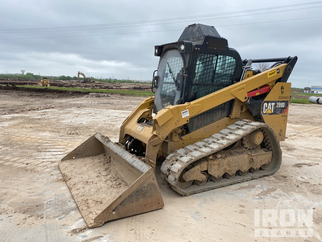 2019 Cat 299D2XHP Two-Speed Compact Track Loader, Compact Track Loader