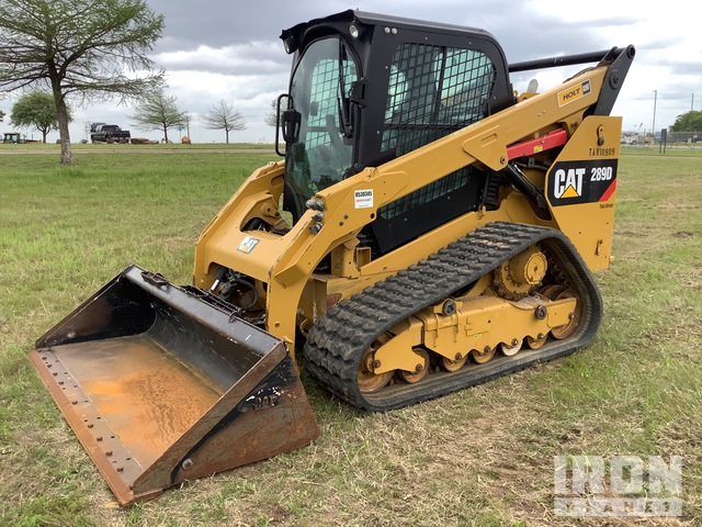 2018 Cat 289D Two-Speed High Compact Track Loader, Compact Track Loader