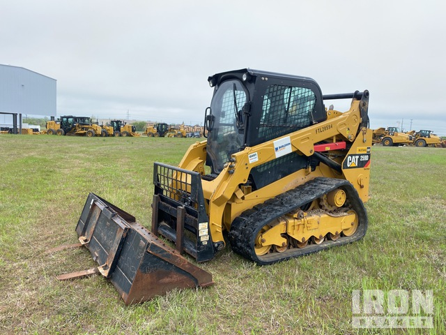 2019 Cat 259D Two-Speed Compact Track Loader, Compact Track Loader