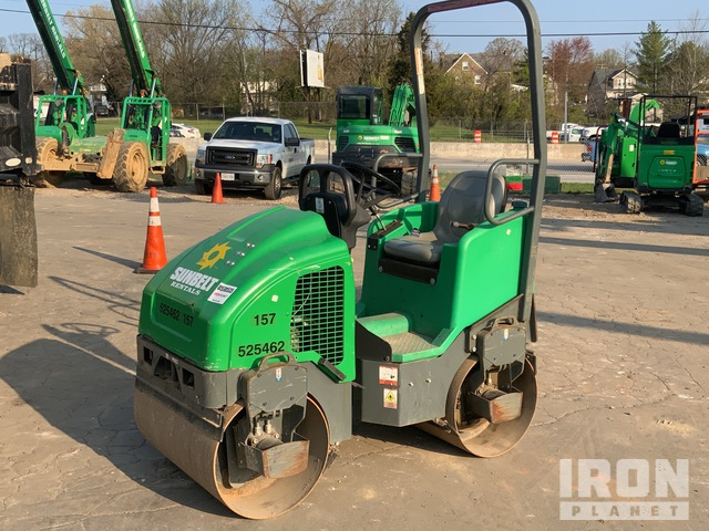 2013 (unverified) Wacker Vibratory Double Drum Roller, Tandem Roller