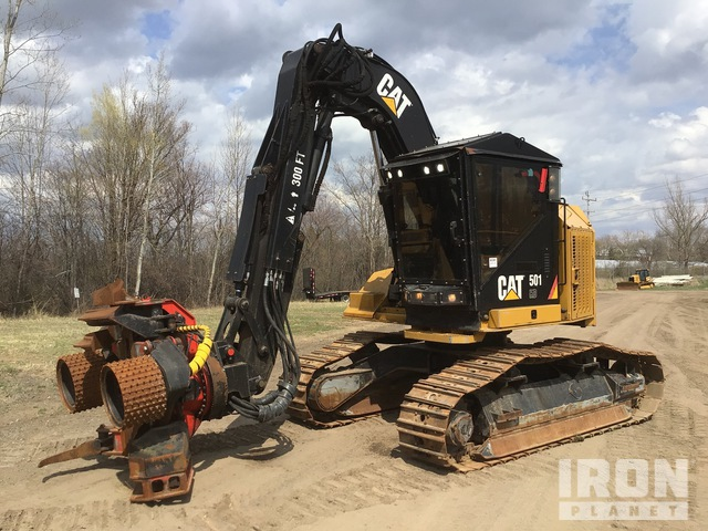 2017 Cat 501HD Track Harvester, Harvester