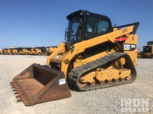 2017 Cat 299D2 Two-Speed Compact Track Loader, Compact Track Loader