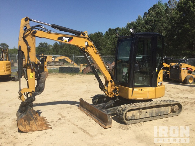 2016 (unverified) Cat 304E2CR Mini Excavator, Mini Excavator (1 - 4.9 Tons)