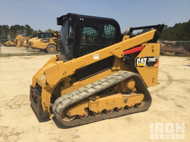 2019 Cat 299D2 Two-Speed High-Flow Compact Track Loader, Compact Track Loader