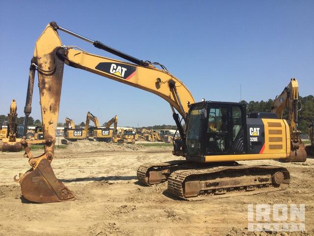 2014 Cat 320EL Track Excavator, Hydraulic Excavator