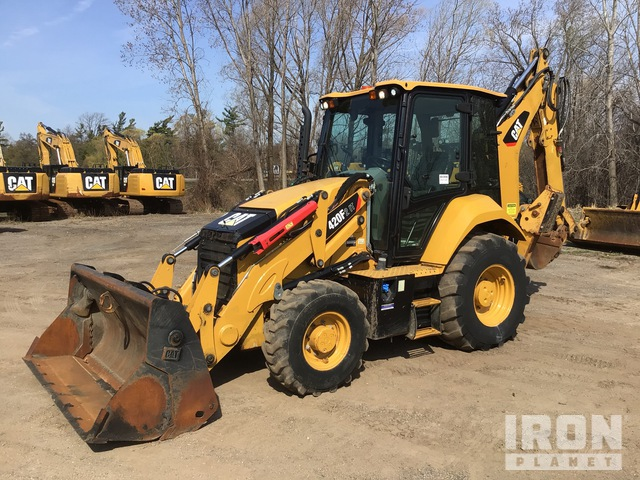 2017 Cat 420F2IT 4x4 Backhoe Loader, Loader Backhoe