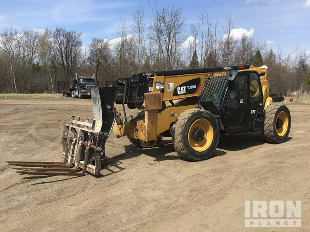 2016 Cat TL1055D Telehandler, Telescopic Forklift