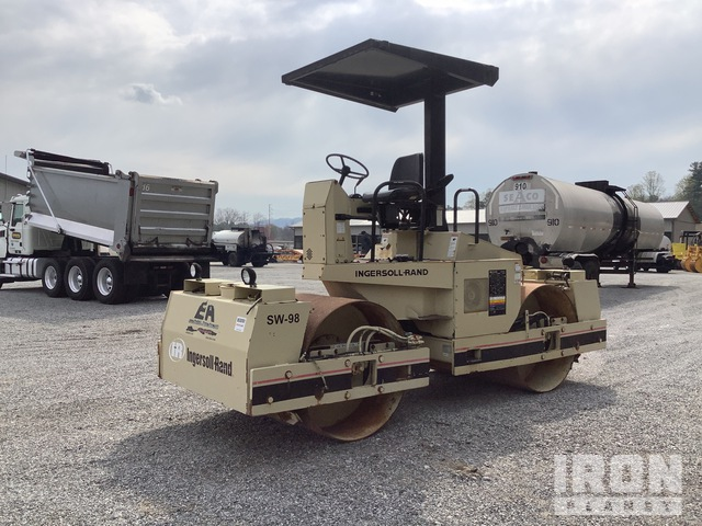 Ingersoll-Rand DD-65 Vibratory Double Drum Roller, Roller