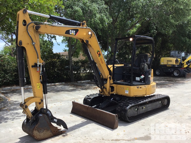 2017 Cat 305.5E2CR Mini Excavator, Mini Excavator (1 - 4.9 Tons)
