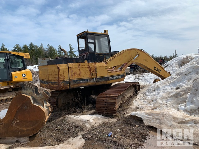 Cat EL200B Track Excavator - INOPERABLE, Log Loader