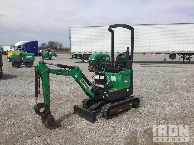 2014 Bobcat 418AA Mini Excavator, Mini Excavator (1 - 4.9 Tons)