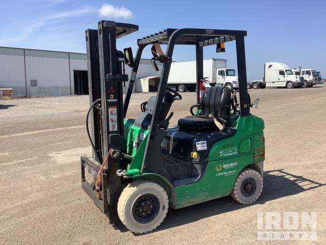 2016 (unverified) Mitsubishi FG18N Cushion Tire Forklift, Forklift