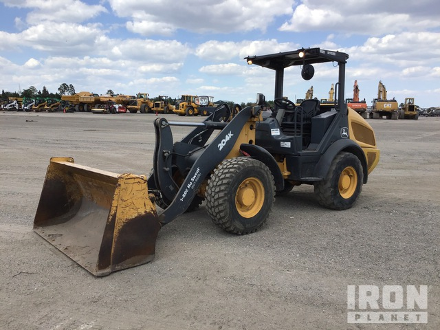 2015 John Deere 204K High Lift Wheel Loader, Wheel Loader