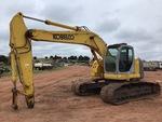 Klicken Sie auf das Bild für Einzelheiten dazu  2003 (unverified) Kobelco SK235SRLC-1E Track Excavator