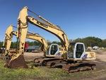 Kliknij obraz, aby uzyskać szczegółowe informacje o  2004 (unverified) Kobelco SK250LC Track Excavator