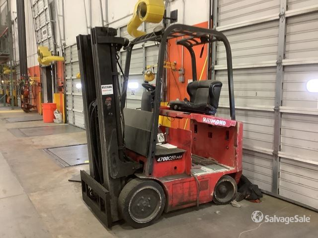 Raymond 470C50HMTT 5000 lb Electric Forklift, Electric Forklift