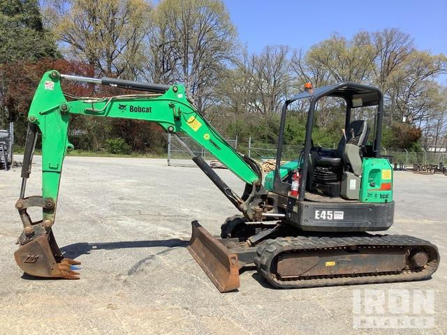 2013 Bobcat E42M Mini Excavator, Mini Excavator (1 - 4.9 Tons)