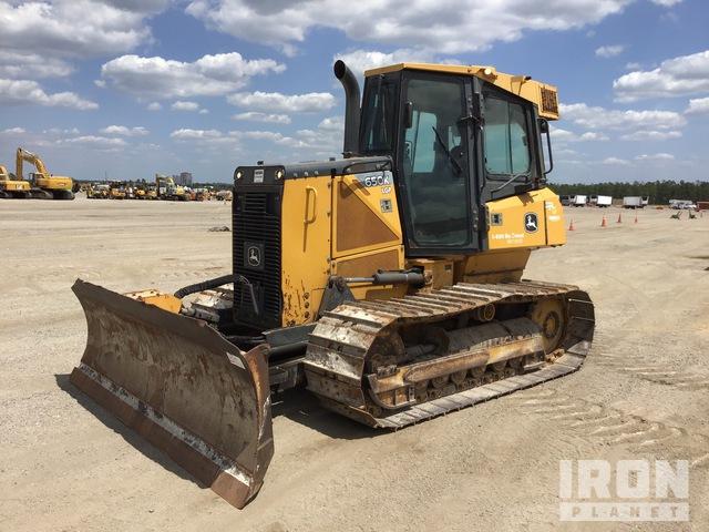 2014 (unverified) John Deere 650K LGP Crawler Dozer, Crawler Tractor