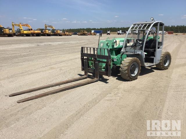2014 Genie GTH5519 4x4 Telehandler, Telescopic Forklift