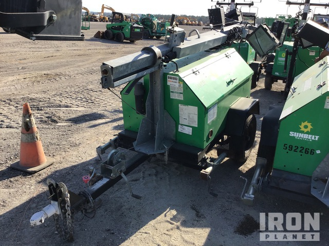2013 Terex RL4 6 kW Light Tower, Light Tower