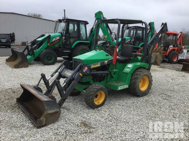 2014 Terramite T7 4x2 Mini Backhoe Loader, Loader Backhoe