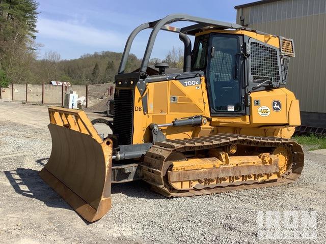 John Deere 700K Crawler Dozer, Crawler Tractor