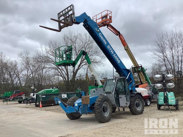 2014 Genie GTH1056 Telehandler, Telescopic Forklift