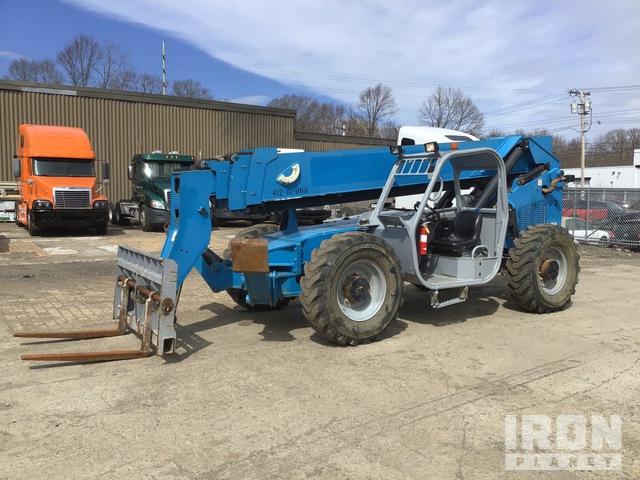 2013 (unverified) Genie GTH1056 10000 lb 4x4x4 Telehandler, Telescopic Forklift