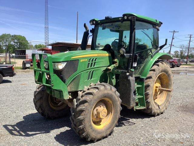 2016 John Deere 6120R 4WD Tractor, MFWD Tractor