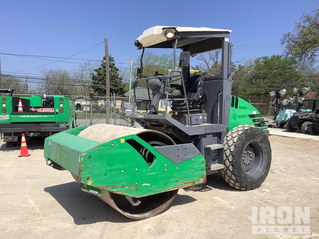 2015 (unverified) Hamm H7I Vibratory Single Drum Compactor, Vibratory Padfoot Compactor