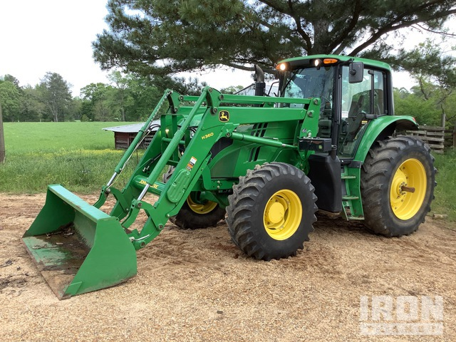 2015 (unverified) John Deere 6150M 4WD Tractor, MFWD Tractor