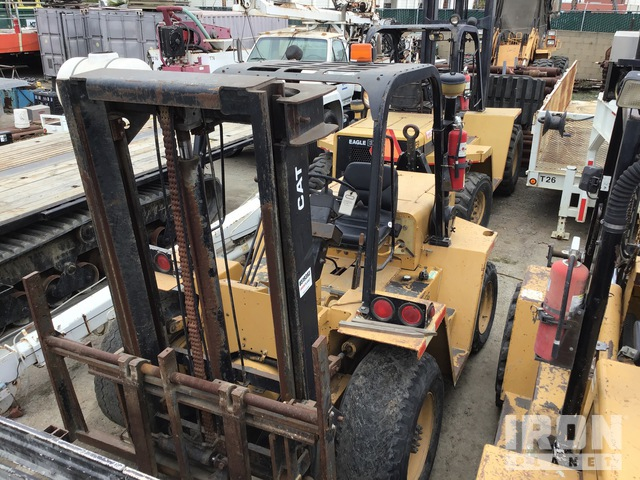 Cat RC60T Rough Terrain Forklift, Rough Terrain Forklift