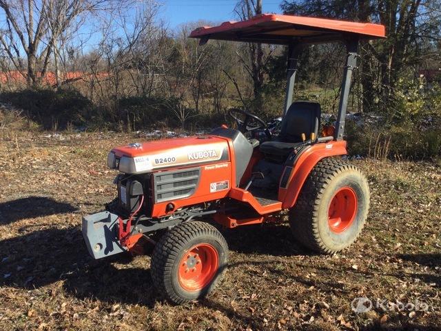 Kubota B2400HD 4WD Tractor, MFWD Tractor